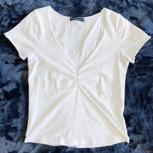 Brandy Melville White Gina Top